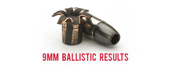 9mm Ballistic Test Results