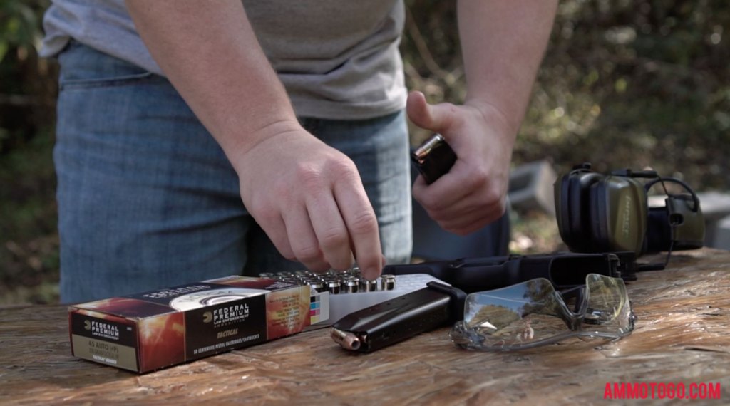 Loading Hollow Point Ammunition Into Magazines