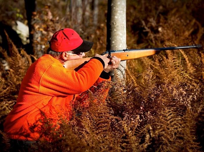 Hunter firing Ammo To Go ammunition