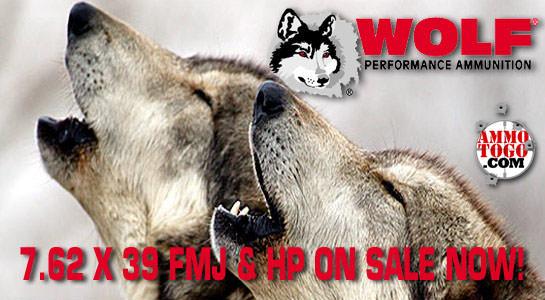 Wolf 7.62 x 39 On Sale!